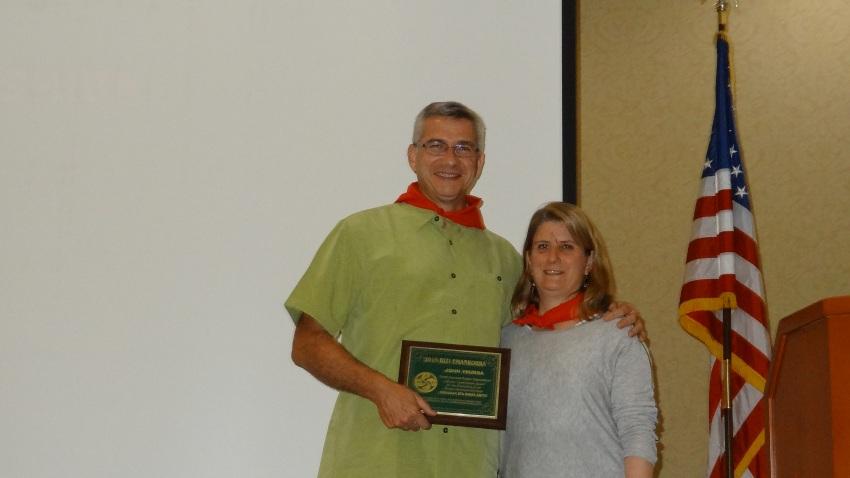 Bizi Emankorra Award to John Ysursa