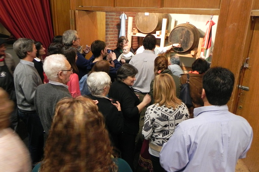 Inauguration of the Eneko Sagardotegia