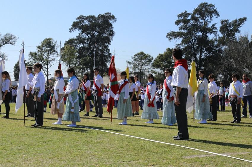 Zeremoniako Banderak
