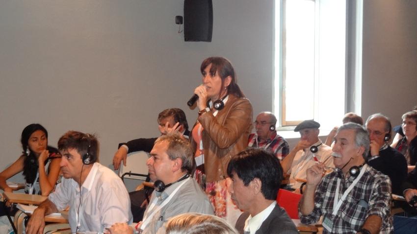 Lucía Goñi,  from FIVU Uruguay