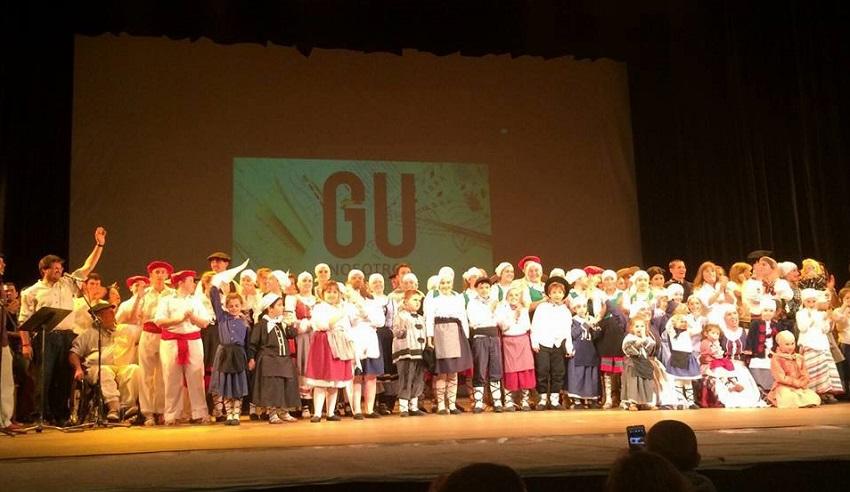 'Gu, nosotros' lagun anitzen lana