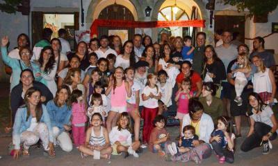 2015ean Chascomuseko lagunek Olentzeroren bisita jaso zuten