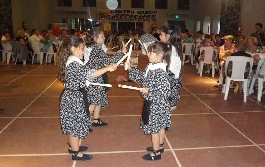 Basque dances and a public dance
