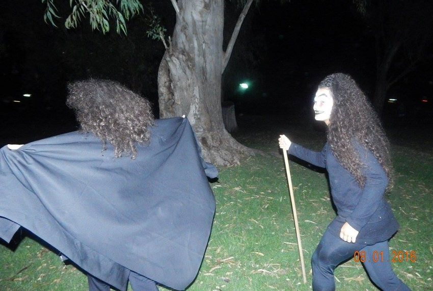 Gauez, mitologia, magia eta dantzak