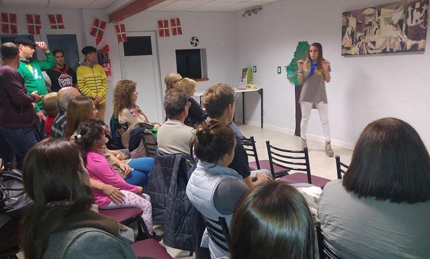 Talk by Rocio Basterra