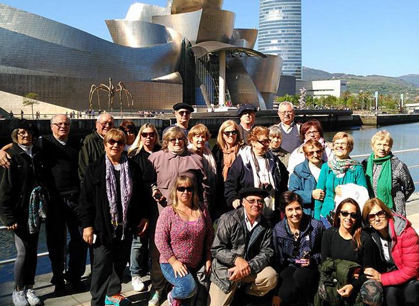 En el Guggenheim de Bilbao