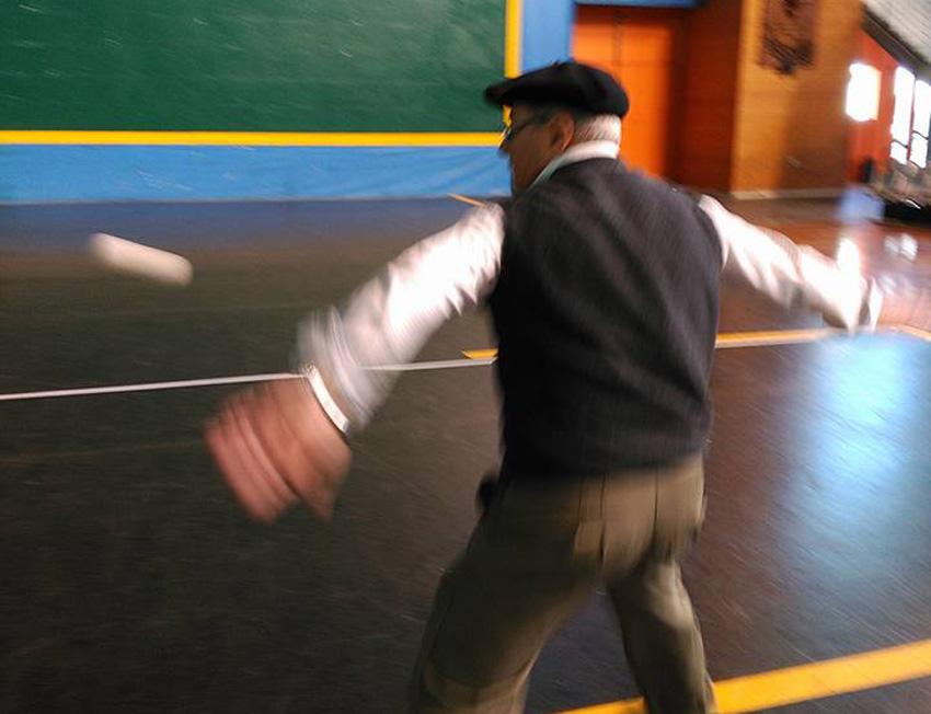 Jugando a pelota