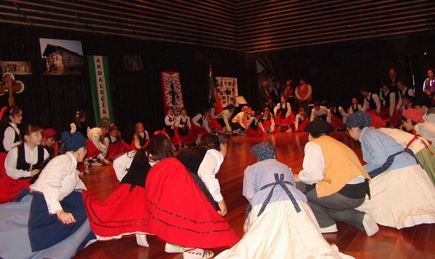 Comunity celebration in Comodoro