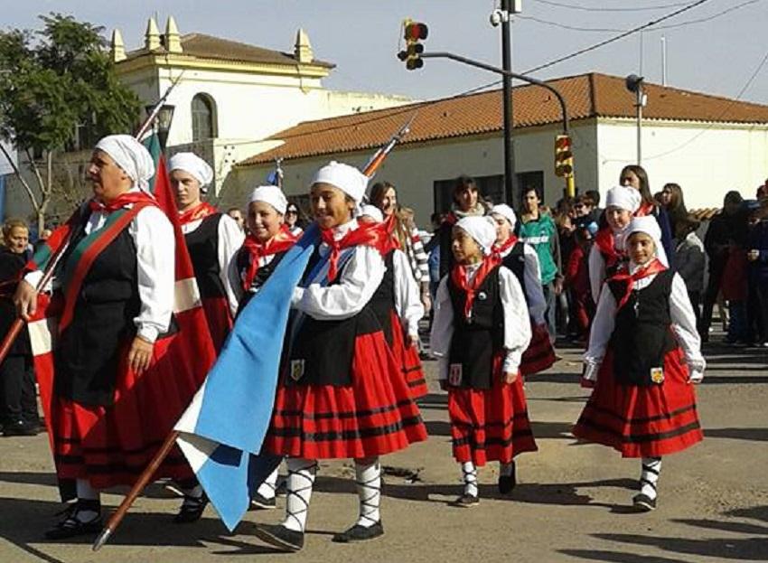 The Chivilcoy Basque club present