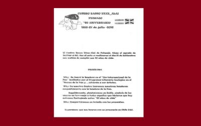 Pehuajoko Etxe Alai Euskal Etxearen 60. urteurren programa
