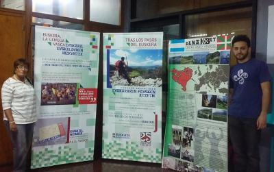 """The exhibit """"In the Footsteps of Euskera: The Basque Language and its Presence in Argentina"""" was displayed in Mendoza from October 10-17"""