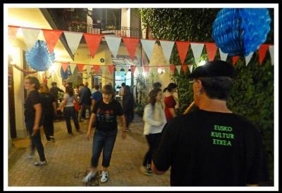 Patxi Perezek Buenos Airesko Eusko Kultur Etxean hasi du 2016ko bira, urriaren 14 eta 15ean
