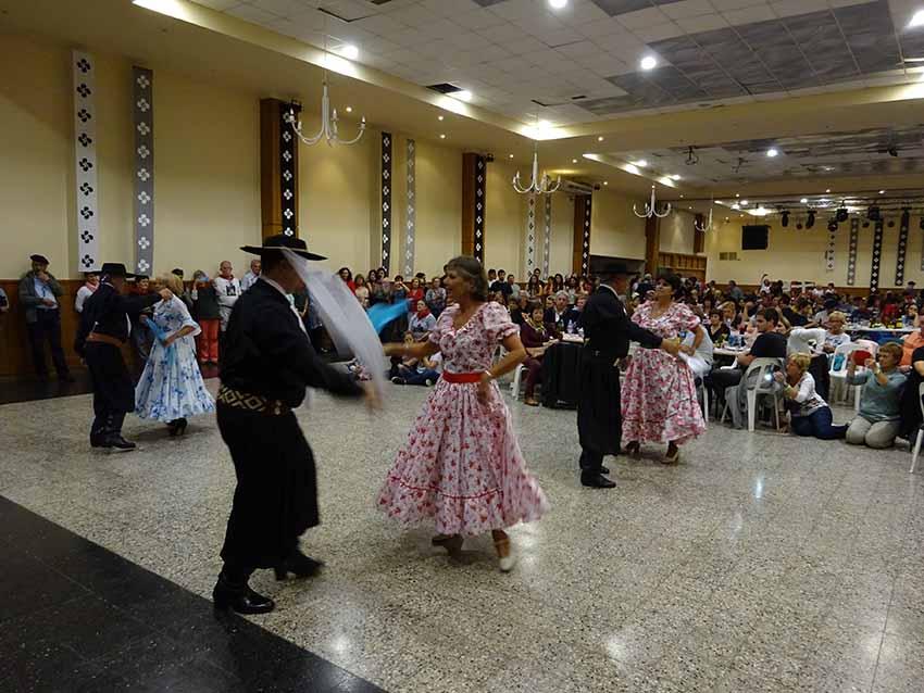 Argentinar dantzen ongi-etorria