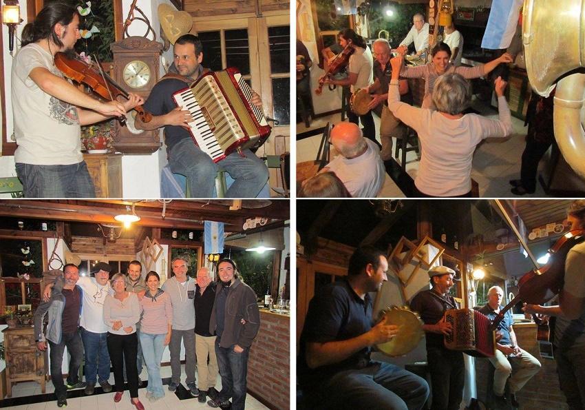 Music and dance in Bariloche