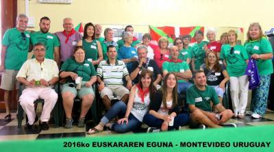 Uruguaiko Euskara Ikasleak 2016ko Euskararen Egunean