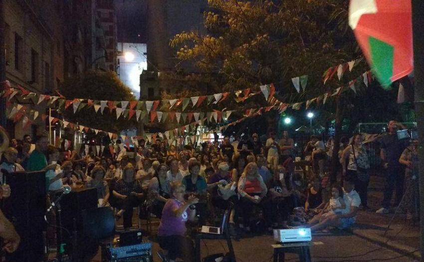 Buenos Airesen: Euskara plazara