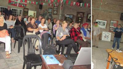 "A large audience enjoyed ""Amama"" at the Eusko Aterpea Basque Club in General Rodriguez"