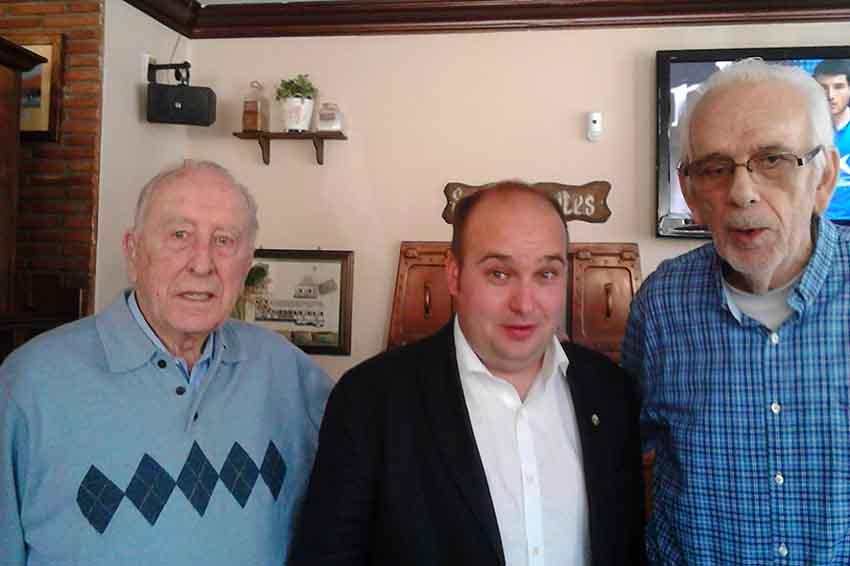 Sabin Sorozabal, Gorka Alvarez, Joxean Elgezabal