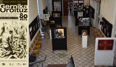 Montevideon inauguratutako 'Gernika oroituz, 80 urte: euskal begirada bat Uruguaitik' erakusketa