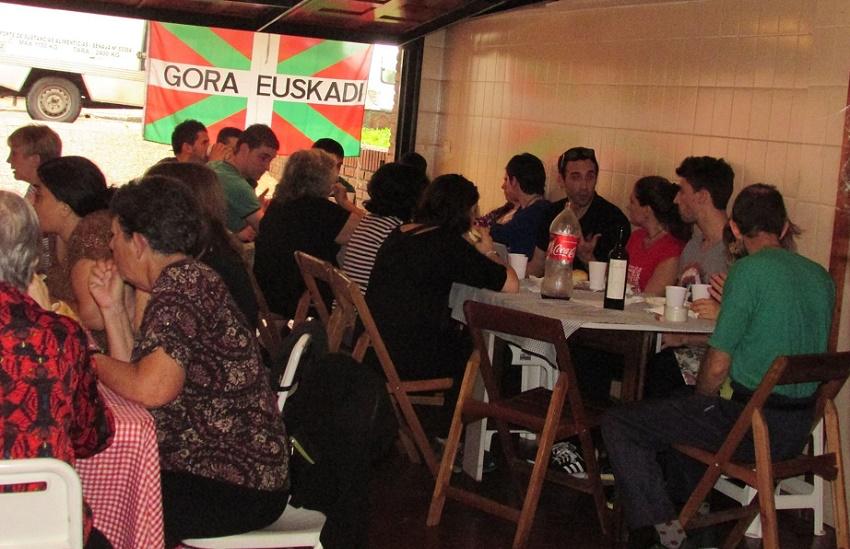Bertso bazkaria in Buenos Aires