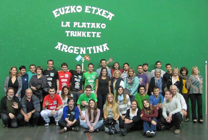 At the Euzko Etxea Basque Club in La Plata