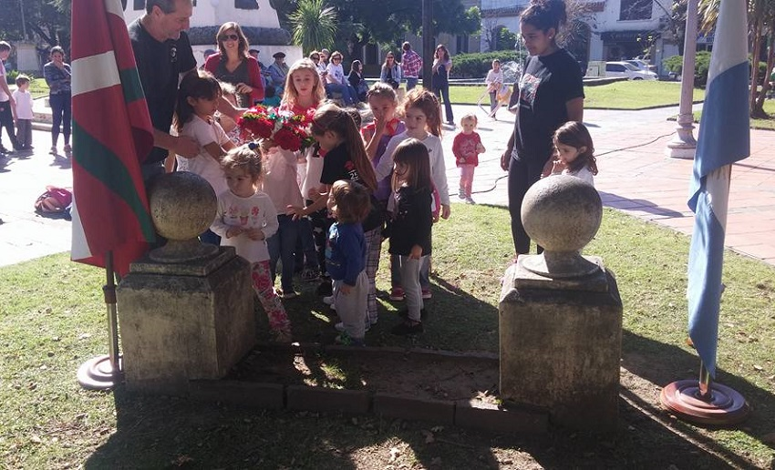Children were the star of the event in Chascomus