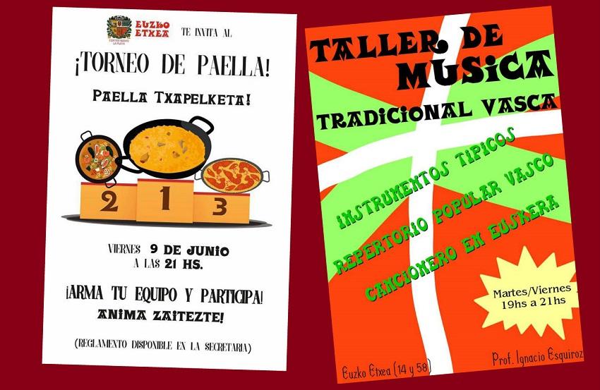 Concurso de Paellas y Taller de Música