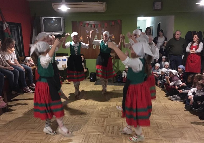 Bahia Blanca also included dancing and a pintxo-pote