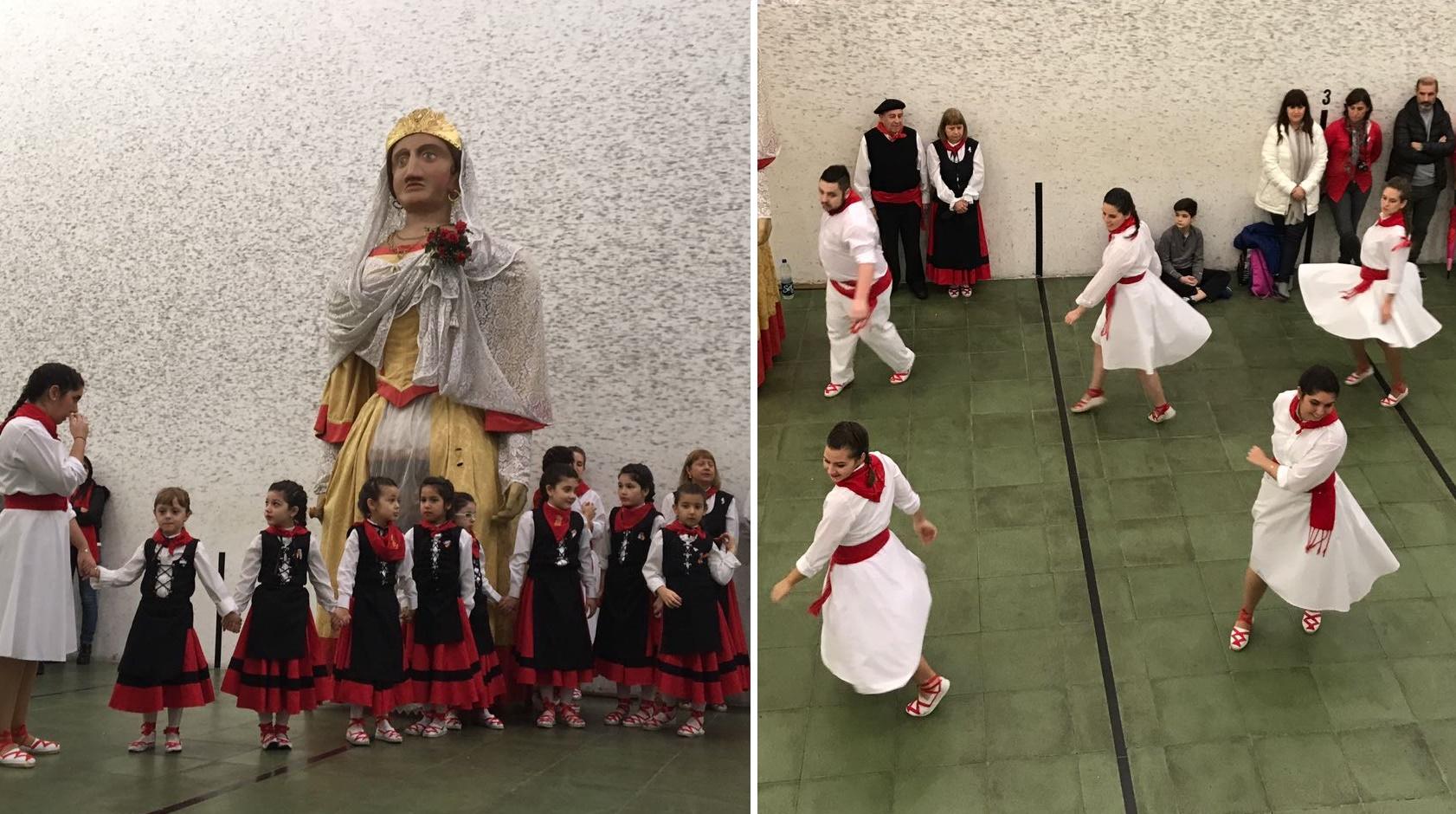 Programa de festejos del Centro Navarro de Buenos Aires