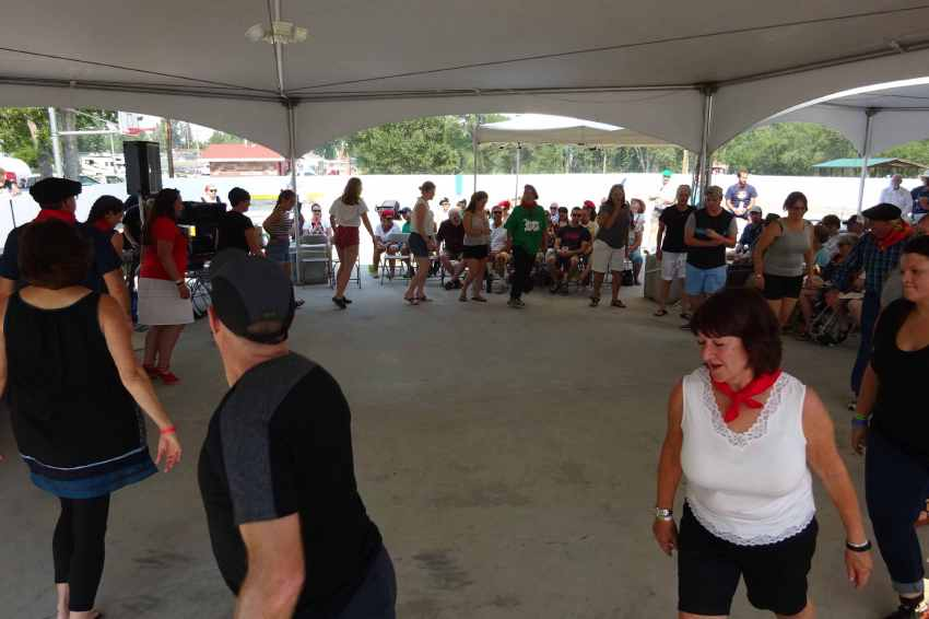 Dantzaris vasco-americanos