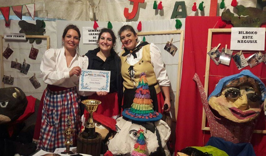 The Basque stand won an award in Concordia