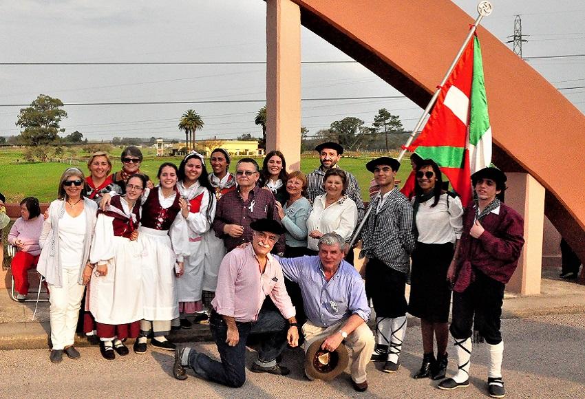 Euskal gizataldea urteurren zeremonian