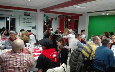 Dinner to conclude the 4th Meeting of Patagonian Basque clubs