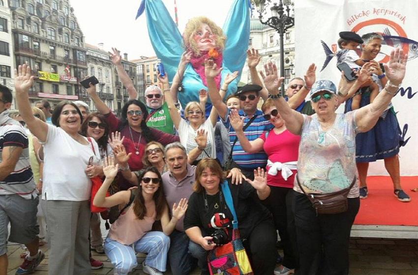 Los viajeros argentinos en las Fiesta de Bilbo 2017