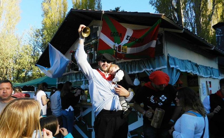 Presencia vasca en la La 38º Fiesta de Colectividades europeo-argentinas de Bariloche