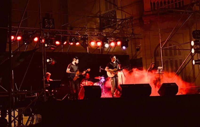 Euskal Musika, San Nicolaseko enparantza nagusian