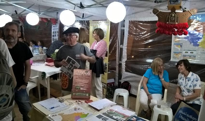 Stand vasco en la 'Noche de Libros' 2017