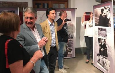 Pergaminoko 2017ko Museoen Gaua ekitaldian, 'Gernika 80 urte' erakusketa inauguratu zuten