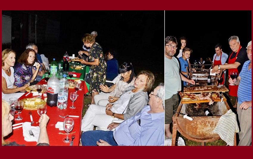 Cena en la Casa Vasca de Juan Harriague