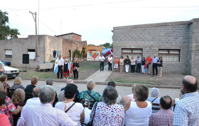 Inauguración de la nueva sede del Centro Vasco Euskal Odola (foto Ayacucho al Día)