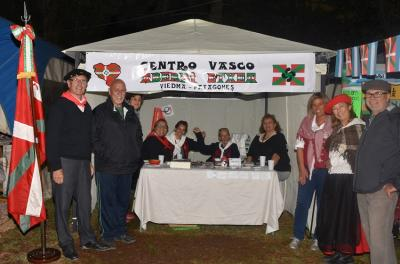 El Aberri Etxea presentó por primera vez un stand vasco en la Fiesta de la Soberanía Patagónica