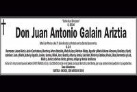 Juan Antonio Galain Ariztia