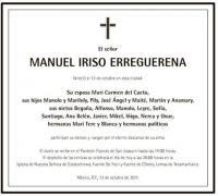 Manuel Iriso Erreguerena