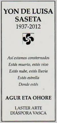 Yon de Luisa Saseta