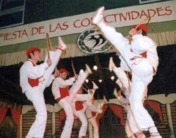 Actuación de Goizaldi en Bariloche en 2000