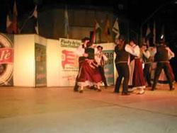 Actuación en la Feria de Colectividades de Santo Tomé
