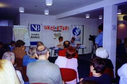 Conferencia 'Nosotros los vascos' en General Pico (CVM)
