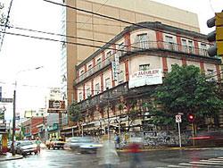 El edificio construido en 1912 por Domingo Barthe