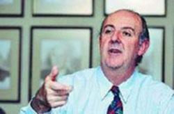 El empresario maderero Jose Ignacio Letamendi, presidente de la asociación de empresarios vasco-chilenos (foto Tercera)