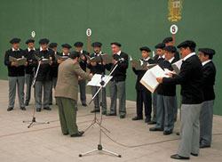 El Coro Vasco de Santiago (foto euskalkultura.com)